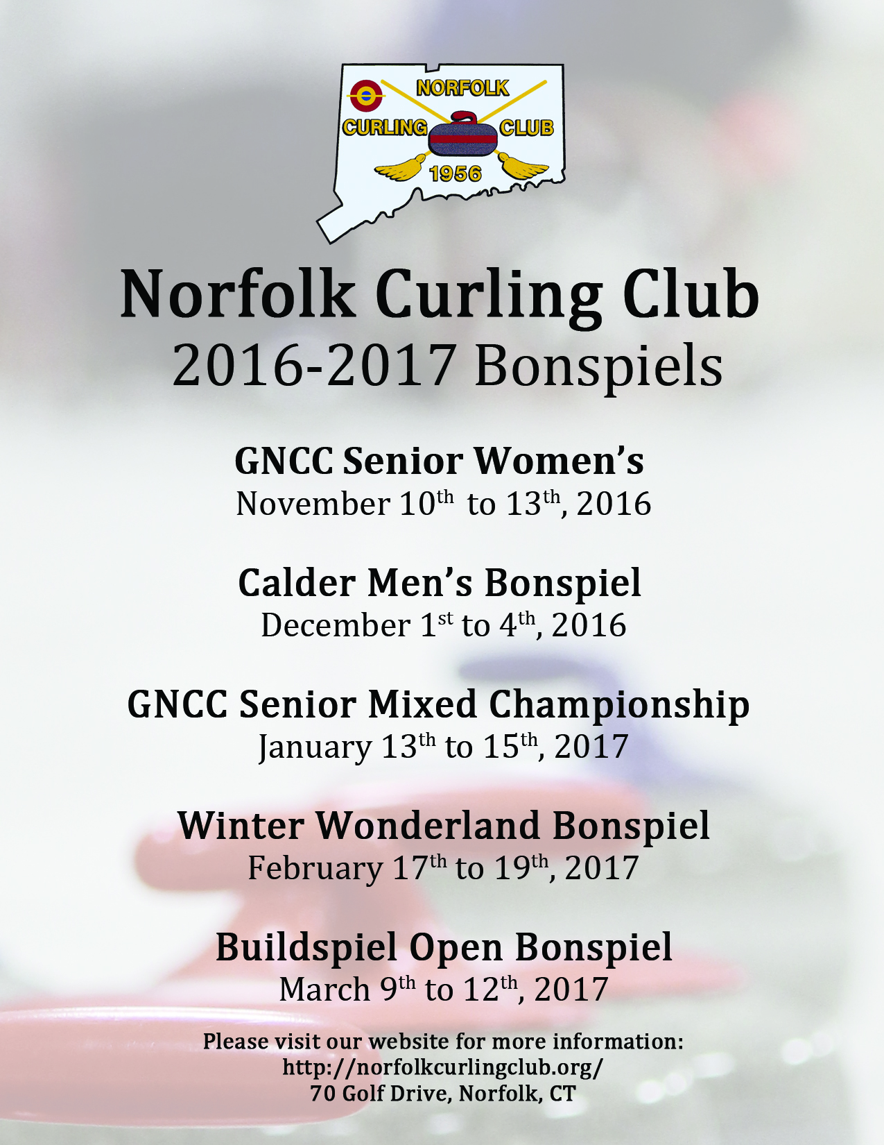 2016 2017 Bonspiel List